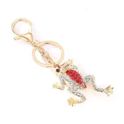 Creative Frog Shape Pendant Ornaments Metal Key ChainKey Chains<br>Creative Frog Shape Pendant Ornaments Metal Key Chain<br><br>Design Style: Fashion<br>Gender: Boys,Girls<br>Materials: Metal, Aluminum Alloy<br>Package Contents: 1 x Key Chain<br>Package size: 14.00 x 7.00 x 7.00 cm / 5.51 x 2.76 x 2.76 inches<br>Package weight: 0.0360 kg<br>Product size: 12.00 x 5.00 x 5.00 cm / 4.72 x 1.97 x 1.97 inches<br>Product weight: 0.0340 kg<br>Stem From: Other<br>Theme: Hang Decoration