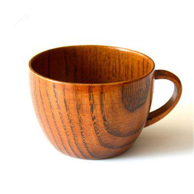 Simple Natural Sour Jujube Wood Coffee Cup