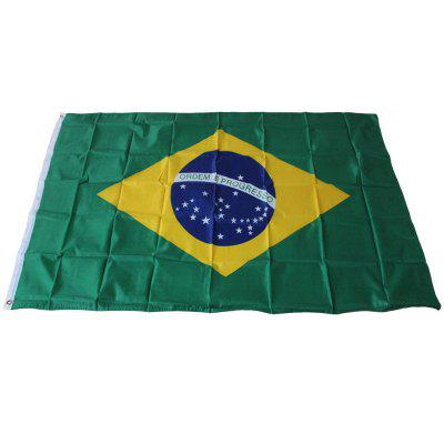 Brazilian Flag Holiday Home Decoration Indoor Outdoor