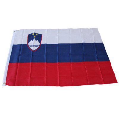 Slovenia Flag Hanging Outdoor Indoor for Celebration