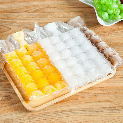 Self-sealing Disposable Ice Cream Mould