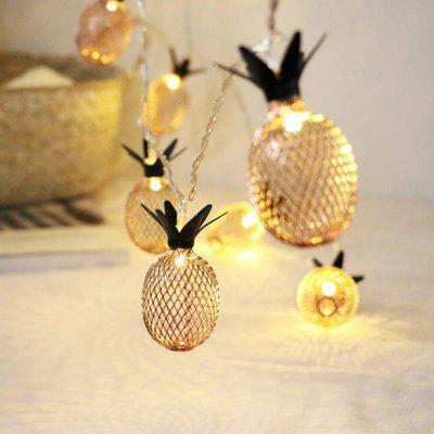 New Pineapple Battery LED Waterproof Lamp String