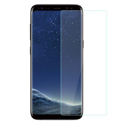 2pcs para Samsung GALAXY S8 Tempered Glass Film Samsung S8 Tempered Steel Tempered Oiled 0.26MM Semi-screen