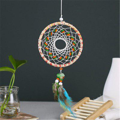 Creative Lace Colored Stone Feather Dregs The Wall Decoration Home Decoration