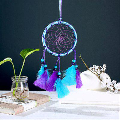 Dream Blue Purple Dream Net Wind Bell Hanging Piece Home Decoration