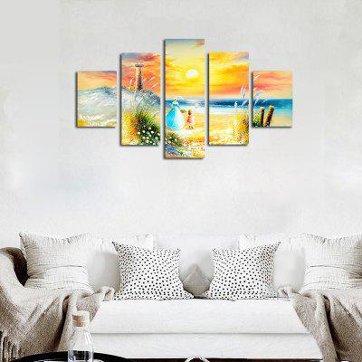 No Frame Canvas Living Room Sofa Background Seaside Scenery 5PCSPrints<br>No Frame Canvas Living Room Sofa Background Seaside Scenery 5PCS<br><br>Brand: Qiaojiahuayuan<br>Craft: Print<br>Form: Five Panels<br>Material: Canvas<br>Package Contents: 5 x Print<br>Package size (L x W x H): 42.00 x 5.00 x 5.00 cm / 16.54 x 1.97 x 1.97 inches<br>Package weight: 0.4000 kg<br>Painting: Without Inner Frame<br>Product size (L x W x H): 150.00 x 90.00 x 1.00 cm / 59.06 x 35.43 x 0.39 inches<br>Product weight: 0.4000 kg<br>Shape: Vertical Panoramic<br>Style: Landscape<br>Subjects: Landscape<br>Suitable Space: Living Room