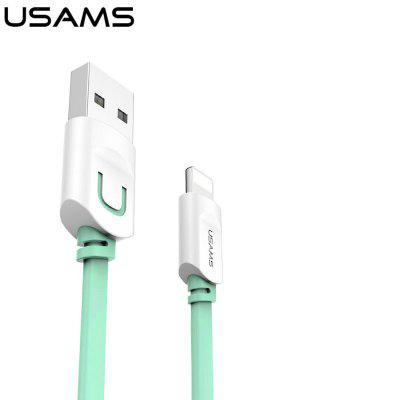 USAMS SJ008 2.1A Fast Charging Cable 1M for iPhone 8 7 6 repalce paper roller kit for hp laserjet laserjet p1005 6 7 8 m1212 3 4 6 p1102 m1132 6 rl1 1442 rl1 1442 000 rc2 1048 rm1 4006