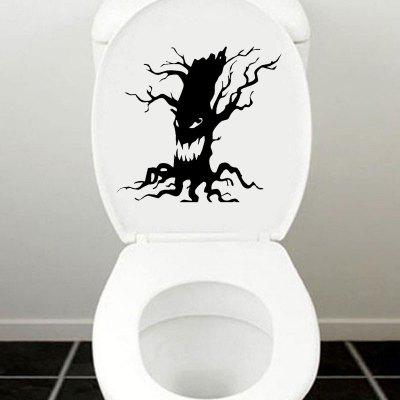 DSU Spooky Tree Vinyl Wall Sticker Halloween Scary Tree Face Toilet  Home DecalWall Stickers<br>DSU Spooky Tree Vinyl Wall Sticker Halloween Scary Tree Face Toilet  Home Decal<br><br>Brand: DSU<br>Color Scheme: Black<br>Function: Height Sticker, Light Switch Stickers, Decorative Wall Sticker, Fridge Sticker<br>Material: Vinyl(PVC)<br>Package Contents: 1 x Wall Sticker<br>Package size (L x W x H): 22.00 x 15.00 x 0.50 cm / 8.66 x 5.91 x 0.2 inches<br>Package weight: 0.0800 kg<br>Product size (L x W x H): 20.00 x 13.00 x 0.10 cm / 7.87 x 5.12 x 0.04 inches<br>Product weight: 0.0500 kg<br>Quantity: 1<br>Subjects: Fashion,Vintage,Others,Holiday,Cute,Cartoon<br>Suitable Space: Garden,Living Room,Bathroom,Bedroom<br>Type: Plane Wall Sticker