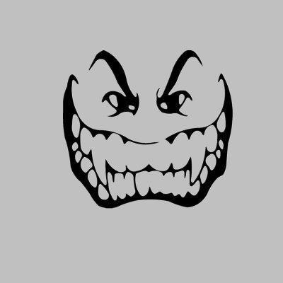 Buy DSU Vampire Face Funny Vinyl Decal Home Decor Toliet Stickers, BLACK, 15X20CM, Home & Garden, Home Decors, Wall Art, Wall Stickers for $2.59 in GearBest store