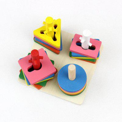 Four Column Intelligence Sleeve Children Intelligence Wooden Pairs Cognitive Block ToysOther Educational Toys<br>Four Column Intelligence Sleeve Children Intelligence Wooden Pairs Cognitive Block Toys<br><br>Gender: Unisex<br>Materials: Wood<br>Package Contents: 1 x Base, 20 x Building Block<br>Package size: 26.00 x 15.00 x 18.00 cm / 10.24 x 5.91 x 7.09 inches<br>Package weight: 0.5300 kg<br>Product size: 15.50 x 15.50 x 12.00 cm / 6.1 x 6.1 x 4.72 inches<br>Product weight: 0.5200 kg<br>Suitable Age: 3 years old up<br>Theme: Other
