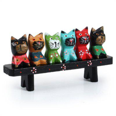 Creative Wood Crafts Home Decoration Animal Furnishing Articles