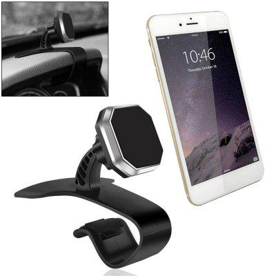 Universal Magnetic Car Dashboard Mount Phone Holder Stand for Xiaomi GPSStands &amp; Holders<br>Universal Magnetic Car Dashboard Mount Phone Holder Stand for Xiaomi GPS<br><br>Material: ABS<br>Package Contents: 1x Magnetic Phone Holder ,  1 x Rectangular Metal Plate<br>Package size (L x W x H): 15.00 x 12.00 x 10.00 cm / 5.91 x 4.72 x 3.94 inches<br>Package weight: 0.1300 kg<br>Product size (L x W x H): 8.00 x 11.00 x 9.00 cm / 3.15 x 4.33 x 3.54 inches<br>Product weight: 0.1200 kg<br>Type: Magnetism Stand