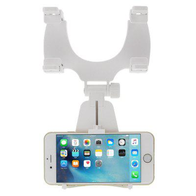 360 Degre Rotation Rear View Mirror Mount Phone Holder for Phone 3.5-6 inch motorcycle handlebar rear view mirror mount adapter holder pair