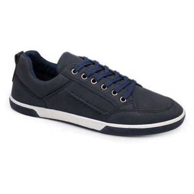 Men Fashion Low-top PU Leather Casual ShoesMen's Sneakers<br>Men Fashion Low-top PU Leather Casual Shoes<br><br>Available Size: 40-44<br>Closure Type: Lace-Up<br>Embellishment: None<br>Gender: For Men<br>Outsole Material: Rubber<br>Package Contents: 1 x Shoes (pair)<br>Pattern Type: Solid<br>Season: Spring/Fall<br>Toe Shape: Round Toe<br>Toe Style: Closed Toe<br>Upper Material: PU<br>Weight: 1.4080kg