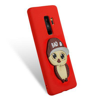 3D Owl Pattern TPU Case for Samsung Galaxy S9 PlusSamsung S Series<br>3D Owl Pattern TPU Case for Samsung Galaxy S9 Plus<br><br>Compatible with: Samsung Galaxy S9 Plus<br>Features: Anti-knock<br>For: Samsung Mobile Phone<br>Material: TPU<br>Package Contents: 1 x Phone Case<br>Package size (L x W x H): 16.00 x 7.60 x 1.30 cm / 6.3 x 2.99 x 0.51 inches<br>Package weight: 0.0300 kg<br>Product weight: 0.0300 kg<br>Style: Cool, Special Design