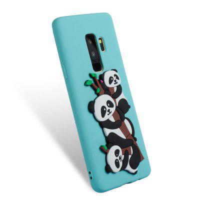 3D Panda Pattern TPU Case for Samsung Galaxy S9 PlusSamsung S Series<br>3D Panda Pattern TPU Case for Samsung Galaxy S9 Plus<br><br>Compatible with: Samsung Galaxy S9 Plus<br>Features: Anti-knock<br>For: Samsung Mobile Phone<br>Material: TPU<br>Package Contents: 1 x Phone Case<br>Package size (L x W x H): 16.00 x 7.60 x 1.30 cm / 6.3 x 2.99 x 0.51 inches<br>Package weight: 0.0300 kg<br>Product weight: 0.0300 kg<br>Style: Cool, Special Design