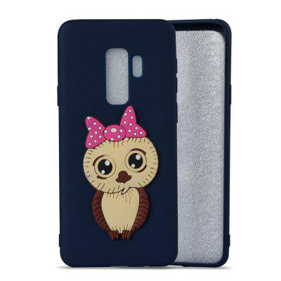 3D Female Owl Pattern TPU Case for Samsung Galaxy S9 PlusSamsung S Series<br>3D Female Owl Pattern TPU Case for Samsung Galaxy S9 Plus<br><br>Compatible with: Samsung Galaxy S9 Plus<br>Features: Anti-knock<br>For: Samsung Mobile Phone<br>Material: TPU<br>Package Contents: 1 x Phone Case<br>Package size (L x W x H): 16.00 x 7.60 x 1.30 cm / 6.3 x 2.99 x 0.51 inches<br>Package weight: 0.0300 kg<br>Product weight: 0.0300 kg<br>Style: Pattern, Special Design, Cool
