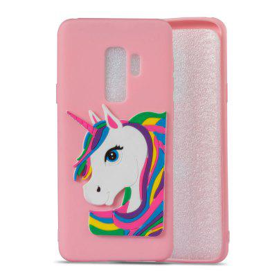 3D Unicorn Pattern TPU Case for Samsung Galaxy S9 PlusSamsung S Series<br>3D Unicorn Pattern TPU Case for Samsung Galaxy S9 Plus<br><br>Compatible with: Samsung Galaxy S9 Plus<br>Features: Anti-knock<br>For: Samsung Mobile Phone<br>Material: TPU<br>Package Contents: 1 x Phone Case<br>Package size (L x W x H): 16.00 x 7.60 x 1.30 cm / 6.3 x 2.99 x 0.51 inches<br>Package weight: 0.0300 kg<br>Product weight: 0.0300 kg<br>Style: Pattern, Special Design, Cool