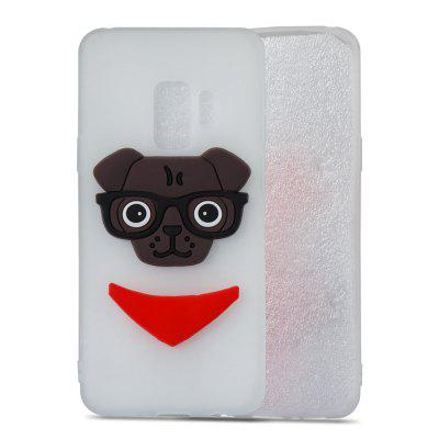3D Dog Pattern TPU Case for Samsung Galaxy S9Samsung S Series<br>3D Dog Pattern TPU Case for Samsung Galaxy S9<br><br>Compatible with: Samsung Galaxy S9<br>Features: Anti-knock<br>For: Samsung Mobile Phone<br>Material: TPU<br>Package Contents: 1 x Phone Case<br>Package size (L x W x H): 15.00 x 7.60 x 1.30 cm / 5.91 x 2.99 x 0.51 inches<br>Package weight: 0.0280 kg<br>Product weight: 0.0280 kg<br>Style: Pattern, Special Design, Cool