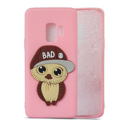 3D Owl Pattern TPU Case for Samsung Galaxy S9Samsung S Series<br>3D Owl Pattern TPU Case for Samsung Galaxy S9<br><br>Compatible with: Samsung Galaxy S9<br>Features: Anti-knock<br>For: Samsung Mobile Phone<br>Material: TPU<br>Package Contents: 1 x Phone Case<br>Package size (L x W x H): 15.00 x 7.60 x 1.30 cm / 5.91 x 2.99 x 0.51 inches<br>Package weight: 0.0280 kg<br>Product weight: 0.0280 kg<br>Style: Pattern, Special Design, Cool