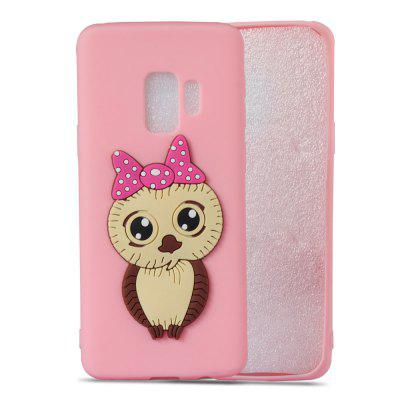 TPU Case for Samsung Galaxy S9 3D Owl PatternSamsung S Series<br>TPU Case for Samsung Galaxy S9 3D Owl Pattern<br><br>Compatible with: Samsung Galaxy S9<br>Features: Anti-knock<br>For: Samsung Mobile Phone<br>Material: TPU<br>Package Contents: 1 x Phone Case<br>Package size (L x W x H): 15.00 x 7.60 x 1.30 cm / 5.91 x 2.99 x 0.51 inches<br>Package weight: 0.0280 kg<br>Product weight: 0.0280 kg<br>Style: Pattern, Special Design, Cool