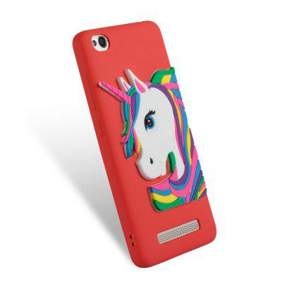 TPU Case for Xiaomi Redmi 4A 3D Unicorn PatternCases &amp; Leather<br>TPU Case for Xiaomi Redmi 4A 3D Unicorn Pattern<br><br>Compatible Model: Xiaomi Redmi 4A<br>Features: Anti-knock<br>Mainly Compatible with: Xiaomi<br>Material: TPU<br>Package Contents: 1 x Phone Case<br>Package size (L x W x H): 14.30 x 7.30 x 1.30 cm / 5.63 x 2.87 x 0.51 inches<br>Package weight: 0.0300 kg<br>Product weight: 0.0300 kg<br>Style: Pattern, Special Design, Cool