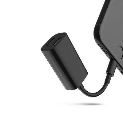 Double Audio Charger Headphones Jack Cable for iPhone X / 8 / 8 Plus/ 7 PlusiPhone Cables &amp; Adapters<br>Double Audio Charger Headphones Jack Cable for iPhone X / 8 / 8 Plus/ 7 Plus<br><br>Interface Type: 8 pin<br>Material ( Cable&amp;Adapter): ABS<br>Package Contents: 1 x Adapter Cable<br>Package size (L x W x H): 7.00 x 5.00 x 1.00 cm / 2.76 x 1.97 x 0.39 inches<br>Package weight: 0.0110 kg<br>Product size (L x W x H): 9.65 x 1.79 x 1.16 cm / 3.8 x 0.7 x 0.46 inches<br>Product weight: 0.0100 kg<br>Type: Cable