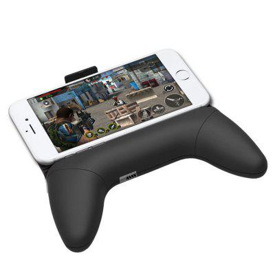 Mobile Game Handle Bracket Radiator for iPhone and AndroidStands &amp; Holders<br>Mobile Game Handle Bracket Radiator for iPhone and Android<br><br>Material: Plastic<br>Package Contents: 1 x Holder<br>Package size (L x W x H): 17.00 x 13.00 x 5.00 cm / 6.69 x 5.12 x 1.97 inches<br>Package weight: 0.1700 kg<br>Product size (L x W x H): 15.50 x 11.80 x 3.00 cm / 6.1 x 4.65 x 1.18 inches<br>Product weight: 0.1650 kg