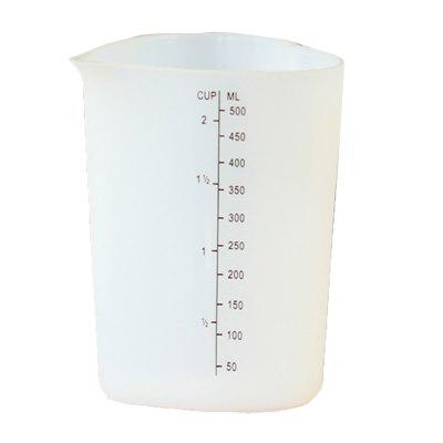 Heat Resistant Silica Gel Thickening Measuring Cup