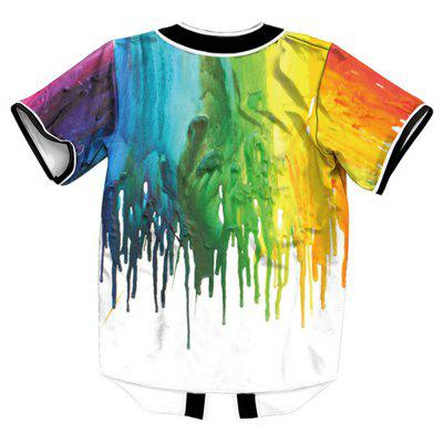 Fashion Design Colorful Painting Print Short Sleeve ShirtMens Shirts<br>Fashion Design Colorful Painting Print Short Sleeve Shirt<br><br>Collar: V-Neck<br>Fabric Type: Polyester<br>Material: Polyester<br>Package Contents: 1 x Shirt<br>Shirts Type: Casual Shirts<br>Sleeve Length: Short<br>Weight: 0.3100kg