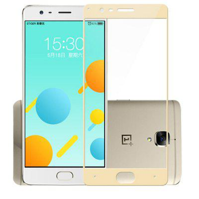 For Oneplus 3/3T Full Covered Color 2.5D Vision Protection Toughened Glass Film