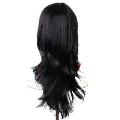 Long Wavy Cosplay Black Brown 65cm Synthetic Hair Wigs original tank007 tk566 led flashlight uv 395nm 1w black led light para pesca japan torch linterna ultravioleta