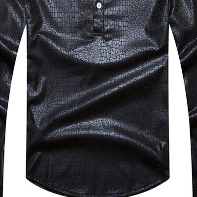 Fashion Snake Big Night Club Mens Casual Long Sleeve ShirtMens Shirts<br>Fashion Snake Big Night Club Mens Casual Long Sleeve Shirt<br><br>Collar: Mandarin Collar<br>Material: Cotton Blends<br>Package Contents: 1x shirt<br>Shirts Type: Casual Shirts<br>Sleeve Length: Full<br>Weight: 0.4000kg
