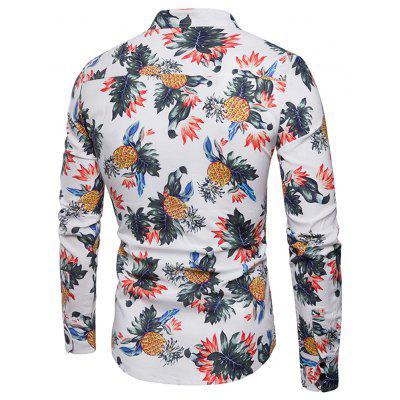 Mens Fashion Large Pineapple Pattern Dyed MenS Long-Sleeved ShirtMens Shirts<br>Mens Fashion Large Pineapple Pattern Dyed MenS Long-Sleeved Shirt<br><br>Collar: Turn-down Collar<br>Material: Nylon<br>Package Contents: 1x shirt<br>Shirts Type: Casual Shirts<br>Sleeve Length: Full<br>Weight: 0.4000kg