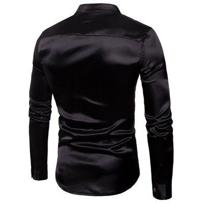 Night Club Shiny Fashion Mens Long Sleeve ShirtMens Shirts<br>Night Club Shiny Fashion Mens Long Sleeve Shirt<br><br>Collar: Turn-down Collar<br>Material: Acrylic<br>Package Contents: 1x shirt<br>Shirts Type: Casual Shirts<br>Sleeve Length: Full<br>Weight: 0.4000kg