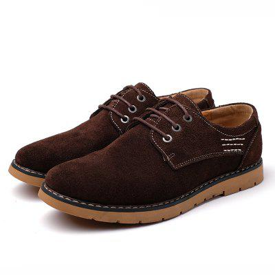 New Cowhide Fashion Sport Men's Casual Shoes