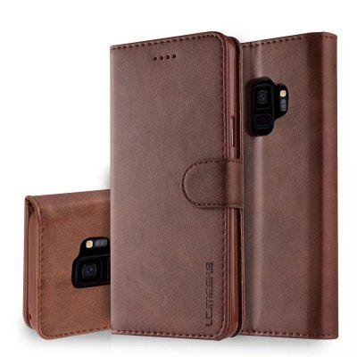 LC.IMEEKE For Samsung Galaxy S9 Plus Case Folio Flip Stand Wallet Purse Cover