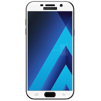 2PCS Screen Protector for Samsung Galaxy A7 2017 HD 3D Full Coverage Anti-Explosion High Sensitivit Tempered Glass