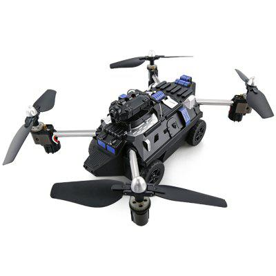 720P HD Camera Altitude Air Land Ground Mode RC Quadcopter Car Drone Toy