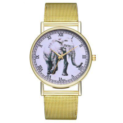 ZhouLianFa T21 Stylish Running Elephant Pattern Quartz Watch