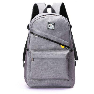 Men Durable Laptop Backpack with USB Port