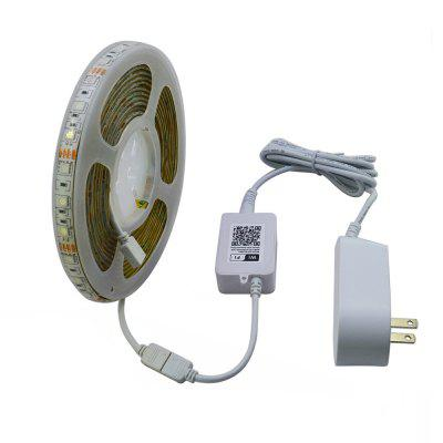 JIAWEN 5M WiFi Control RGB 5050SMD LED Strip Light Home Decoration