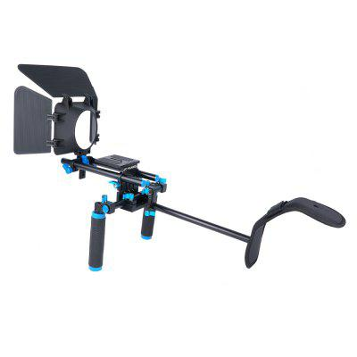 YELANGU Camera Accessories DSLR Movie Mount Shoulder Rig For SLR  HDV Camcorders