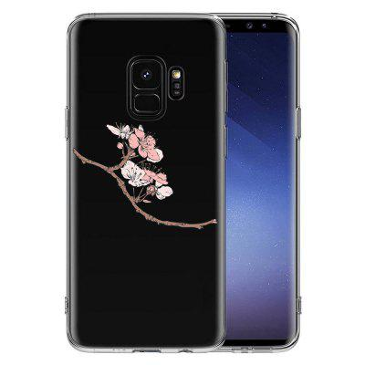 Case for Samsung Galaxy S9 TPU Soft Cherry Blossoms PatternSamsung S Series<br>Case for Samsung Galaxy S9 TPU Soft Cherry Blossoms Pattern<br><br>Features: Back Cover<br>Material: TPU<br>Package Contents: 1 x Case<br>Package size (L x W x H): 16.00 x 8.00 x 1.00 cm / 6.3 x 3.15 x 0.39 inches<br>Package weight: 0.0220 kg<br>Product size (L x W x H): 15.60 x 7.60 x 0.76 cm / 6.14 x 2.99 x 0.3 inches<br>Product weight: 0.0200 kg<br>Style: Floral