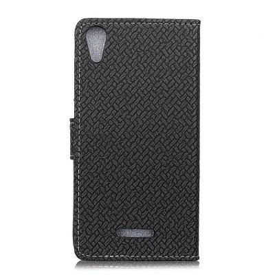 Cover Case For WIKO Lenny 4 Braided Pattern PU Leather WalletCases &amp; Leather<br>Cover Case For WIKO Lenny 4 Braided Pattern PU Leather Wallet<br><br>Features: With Credit Card Holder<br>Material: PU Leather<br>Package Contents: 1 x Phone Case<br>Package size (L x W x H): 20.00 x 20.00 x 5.00 cm / 7.87 x 7.87 x 1.97 inches<br>Package weight: 0.0500 kg<br>Product Size(L x W x H): 19.00 x 12.00 x 2.00 cm / 7.48 x 4.72 x 0.79 inches<br>Product weight: 0.0300 kg<br>Style: Solid Color