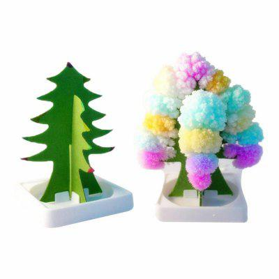 Creative DIY Colorful Rainbow Paper Tree Blossom Model ToyNovelty Toys<br>Creative DIY Colorful Rainbow Paper Tree Blossom Model Toy<br><br>Gender: Unisex<br>Materials: Paper<br>Package Contents: 1 x Magic Growing Tree<br>Package size: 9.00 x 8.00 x 2.00 cm / 3.54 x 3.15 x 0.79 inches<br>Package weight: 0.0500 kg<br>Product size: 7.00 x 7.00 x 15.00 cm / 2.76 x 2.76 x 5.91 inches<br>Product weight: 0.0450 kg<br>Stem From: Other<br>Theme: Other