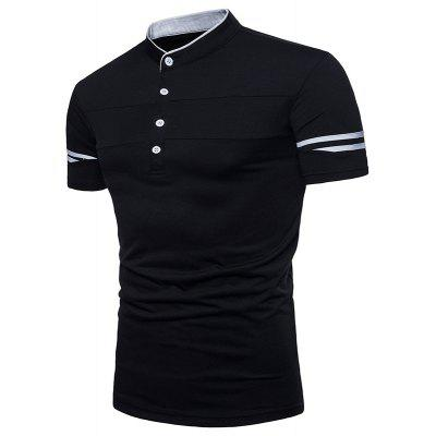 New Summer Mens Collar Short Sleeve Polo ShirtMens Short Sleeve Tees<br>New Summer Mens Collar Short Sleeve Polo Shirt<br><br>Collar: Mandarin Collar<br>Color Style: Solid<br>Fabric Type: Twill<br>Material: Cotton<br>Package Contents: 1xPolo Shirt<br>Pattern Type: Solid<br>Sleeve Length: Sleeveless<br>Style: Casual<br>Type: Loose<br>Weight: 0.3000kg