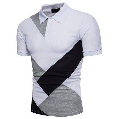 European Summer New Mens Lapel Stitching Short Sleeve Polo ShirtMens Short Sleeve Tees<br>European Summer New Mens Lapel Stitching Short Sleeve Polo Shirt<br><br>Collar: Turn-down Collar<br>Color Style: Contrast Color<br>Fabric Type: Twill<br>Material: Cotton<br>Package Contents: 1xPolo Shirt<br>Pattern Type: Patchwork<br>Sleeve Length: Short<br>Style: Casual<br>Type: Regular<br>Weight: 0.3000kg