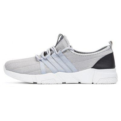 Mens Sports Breathable Net Simple Casual Running ShoesMen's Sneakers<br>Mens Sports Breathable Net Simple Casual Running Shoes<br><br>Available Size: 39 40 41 42 43 44<br>Closure Type: Lace-Up<br>Embellishment: None<br>Flat Type: Ballet Flats<br>Gender: Unisex<br>Insole Material: Rubber<br>Lining Material: Cotton Fabric<br>Occasion: Casual<br>Outsole Material: Plastic<br>Package Contents: 1 x shoes(pair)<br>Pattern Type: Others<br>Season: Summer, Spring/Fall<br>Shoe Width: Medium(B/M)<br>Toe Shape: Pointed Toe<br>Toe Style: Closed Toe<br>Upper Material: Mesh<br>Weight: 1.1529kg