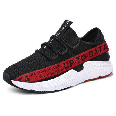 Spring Retro Mens Korean Sports Shoes Tide ShoesMen's Sneakers<br>Spring Retro Mens Korean Sports Shoes Tide Shoes<br><br>Available Size: 39-44<br>Closure Type: Elastic band<br>Feature: Breathable<br>Gender: For Men<br>Outsole Material: Rubber<br>Package Contents: 1 x shoes(pair)<br>Package Size(L x W x H): 33.00 x 22.00 x 12.00 cm / 12.99 x 8.66 x 4.72 inches<br>Package weight: 0.5000 kg<br>Pattern Type: Letter<br>Product weight: 0.5000 kg<br>Season: Summer<br>Upper Material: Cloth